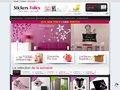 Stickers-Folies.fr, site spécialisé dans les stickers décoratifs