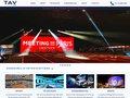 screenshot http://www.tav.fr Tav