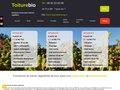 screenshot http://www.toiture-bio.com Toiture végétale