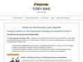 Détails : Tomy Bike, le vélo qui vous aide à avancer