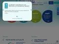 screenshot http://www.unassi.fr/ Aide, coordination de soins infirmiers à domicile