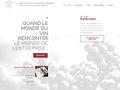 screenshot http://www.vinsplusvins.fr Vins + vins - le n°1 du cadeau d'affaires en vin