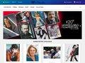 screenshot http://www.xpautographes.com/ Xp autographes - vente d'autographes en ligne