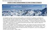 Randonnée raquettes et randonnée à pied  dans les Alpes ( Maurienne - Vanoise en Savoie ) avec un accompagnateur montagne