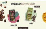 Commerce equitable - Produits equitables : chocolat equitable et bio, the Bio , cafe -