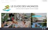 Annuaire des sites de locations de vacances (gite, chambres d'hotes), Accueil