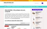 Balancelle Bébé - Avis, Test, Comparatif, Infos pratiques