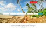 Bungalow Martinique – Un joli bungalow a Tartane 972 au bord de la plage