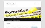 Choix Formation : Pour trouver une formation professionnelle ou continue à votre mesure!