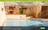 Gite de charme avec piscine et spa au Domaine de Saussignac