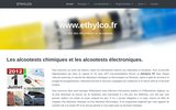 Ethylco : éthylotest et alcootest homologué.
