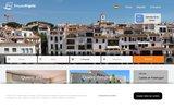 Alquiler apartamentos casas villas Costa Brava Calella de Palafrugell, Llafranc y Tamariu