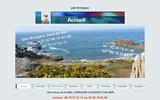 location gite bretagne bord de mer finistère,une location de vacances terrasse vue mer à plougasnou baie de morlaix