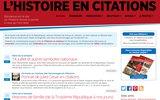 L'Histoire en citations | Bienvenue sur le site oùl'Histoiredonnelaparoleàceuxquil'ontfaite.