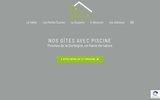 Location de Gites avec piscine au sud de la Dordogne -