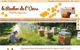 Le Rucher de l'Ours, vente en ligne de miel