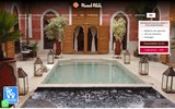 Location riad marrakech avec piscine