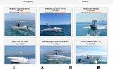 screenshot http://alliance-nautique-location.com Alliance Nautique Location de bateaux moteur en Méditerranée