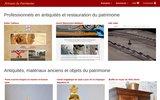 screenshot http://annonces.artisans-patrimoine.fr annonces des artisans du patrimoine