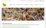 screenshot http://apihappy.fr Apiculteur en Essonne: Essaims, reines d'abeilles et miels