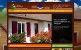 screenshot http://artisan-menuisier-bourguignon.fr rénovation menuiserie extérieures fenêtres portes