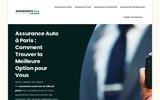 screenshot http://assurance-auto-paris.fr assurance auto moto à paris