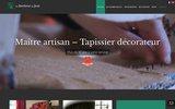screenshot http://aubonheurdujour.com au bonheur du jour tapissier decorateur le mans