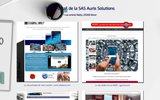screenshot http://auris-solutions.fr auris solutions, conseil aux entreprises - si