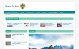 screenshot http://bolivie.cheminsdesincas.com chemins bolivie - agence de voyage en bolivie