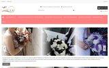 screenshot http://bouquet-de-la-mariee.com/ Bouquets pour Mariage