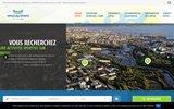 screenshot http://brest-officedessportsbrest.fr office des sports de brest