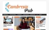 screenshot http://cambresis-pub.fr cambresis pub : portail commercial du cambrésis.