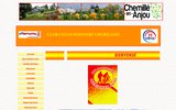 screenshot http://cc-chemille.ffct.org club cyclo-pédestre chemillois