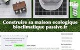 screenshot http://construire-sa-maison-ecologique-bioclimatique-passive.fr/ construction d'une maison écologique, bioclimatique, passive