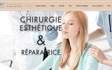 screenshot http://drmarcbenatar.com esthéticien