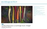 screenshot http://ets-leforge-et-fils.fr/ Plombier en Seine et Marne