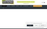 screenshot http://extend.fr Extension de votre maison, grâce à nos vérandas et pergolas
