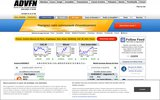 screenshot http://fr.advfn.com bourse en direct: cac 40, bourse de paris...