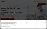 screenshot http://fr.popfax.com popfax.com - service de fax par internet