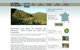 screenshot http://gites-cessous.fr/fr/ gîtes du cessous - location de gîte rural et touri