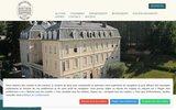 screenshot http://hoteldeseaux.fr/ Hôtel Aix les Bains