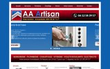 screenshot http://idfdepannage.net plombier Gagny