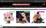 screenshot http://kamehashop.fr kamehashop la boutique japanimation