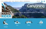 screenshot http://karst-rider.com karst rider canyoning