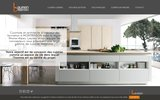 screenshot http://lauren-cuisines.fr Concepteur de cuisines sur mesure