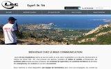 screenshot http://lebrascommunication.fr location de matériel de radiocommunication