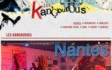 screenshot http://les-kangourous.fr Groupe de Festival Les Kangourous