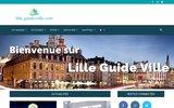 screenshot http://lille.guide-ville.com guide de la ville de lille et de sa métropole
