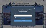 screenshot http://lusitanie.fr/ blog sur le monde portugais : lusitanie.fr