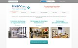 screenshot http://pro.dweho.com/ nettoyage